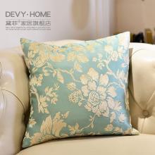 DEVY新古典客厅沙发抱枕卧室床头靠垫靠枕 欧式样板房家居装饰品