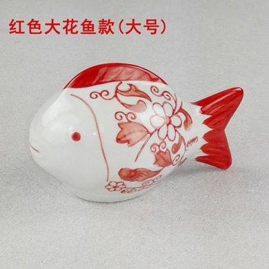 6個起包郵 陶瓷可漂浮小浮魚缸擺件家居家裝飾時尚創意簡約工藝品
