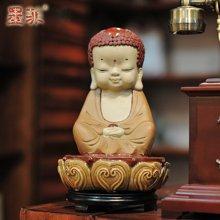 佛緣思遠 雕塑陶瓷擺件工藝品中式古典家居裝飾佛像禪意擺設