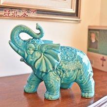 墨菲现代新中式冰裂釉陶瓷对象摆件结婚礼物家居客厅电视柜装饰品