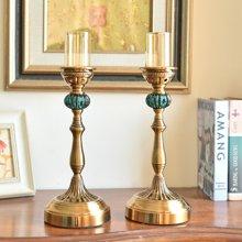 墨菲欧式美式客厅复古座钟 古典创意家居卧室床头柜钟表装饰品