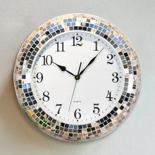 墨菲 现代简约钟表挂钟时钟 欧式客厅创意贝壳静音艺术挂表石英钟