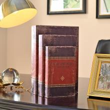 DEVY 美式复古假书书房办公室书架装饰品收纳摆件 欧式仿真道具书