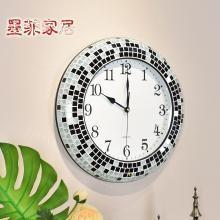 墨菲 现代简约石英大号静音挂钟 欧式美式大气钟表客厅创意时钟