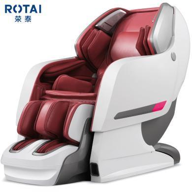 榮泰RONGTAI 8600S按摩椅家用太空艙豪華電動按摩椅 酒紅色