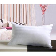 芒更家纺全棉锻条枕枕头 枕芯