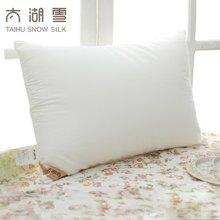 太湖雪 蚕丝纤维枕 颈椎枕护颈枕芯 柔软舒适 一只装 专柜正品
