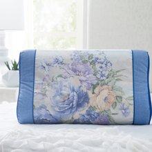 博洋家纺 仲夏花语冰丝定型枕 枕头新品