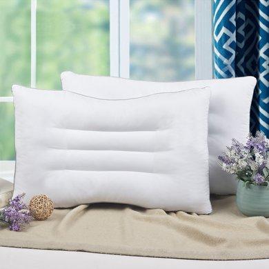 帝豪家紡枕頭枕芯護頸枕枕頭芯可水洗單人學生成人枕頭芯一對拍二