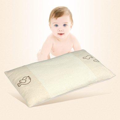 帝豪家紡 彩棉嬰兒枕頭透氣幼兒園兒童枕頭寶寶定型枕新生兒0-1-3歲