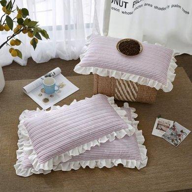 羽芯家纺 韩式水洗棉全荞麦枕