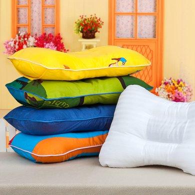 帝豪家紡 兒童小枕頭1-3-6歲幼兒園決明子枕芯全棉純棉卡通枕頭套