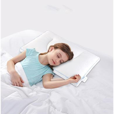 AiSleep/睡眠博士泰國兒童乳膠枕頭可調節顆粒按摩枕芯雙面乳膠枕