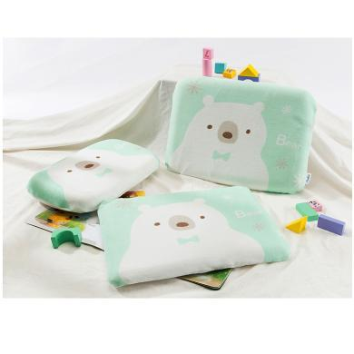 AiSleep/睡眠博士泰國乳膠嬰兒趴睡枕 兒童乳膠小枕頭透氣1-5歲