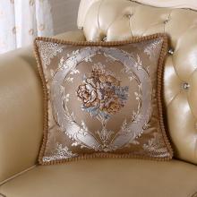 DREAM HOME 欧式沙发靠垫抱枕客厅大号卧室床头靠?#31216;导?#29992;靠背垫558846