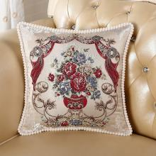 DREAM HOME 欧式沙发靠垫抱枕客厅大号卧室床头靠?#31216;导?#29992;靠背558847
