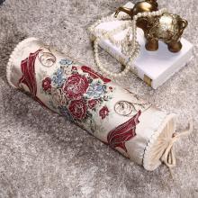 DREAM HOME 糖果枕 圆枕脚垫靠垫颈椎护颈枕沙发抱枕 长圆柱枕558865