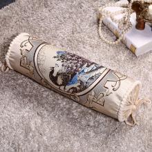 DREAM HOME 糖果枕 圆枕脚垫靠垫颈椎护颈枕沙发抱枕 长圆柱枕558867