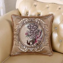 DREAM HOME 欧式沙发靠垫抱枕客厅大号卧室床头靠?#31216;导?#29992;靠背垫558848