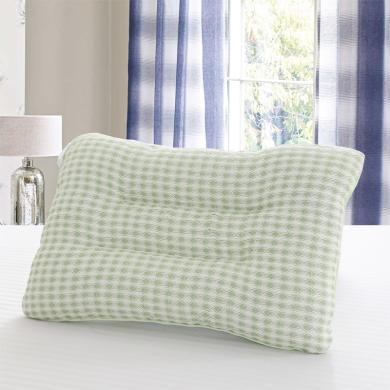 雅綠決明子枕頭亞草涼枕頭枕芯成人定型學生護頸椎枕頭夏季涼爽