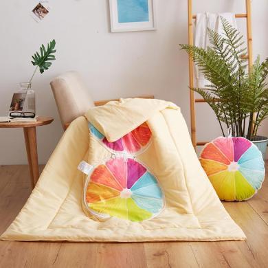 DREAM HOME 水果造型抱枕被多功能沙发汽车抱枕497290