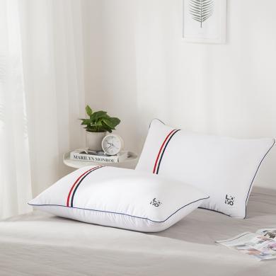 LOVO家紡 云柔舒睡對枕情侶對枕