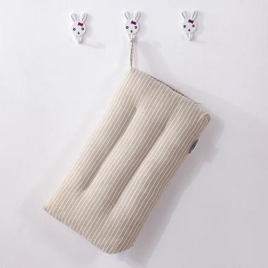 VIPLIFE全棉色织纯棉儿童枕头枕芯 亲肤舒适款