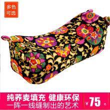 【全蕎麥填充枕】VIPLIFE全蕎麥填充虎頭枕 傳統手工制作工藝老粗布蕎麥枕