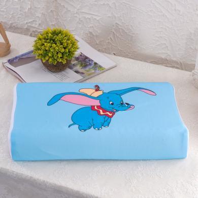 【兒童專用款】VIPLIFE天然乳膠兒童枕頭 天鵝絨防螨家用乳膠枕芯護頸椎兒童枕