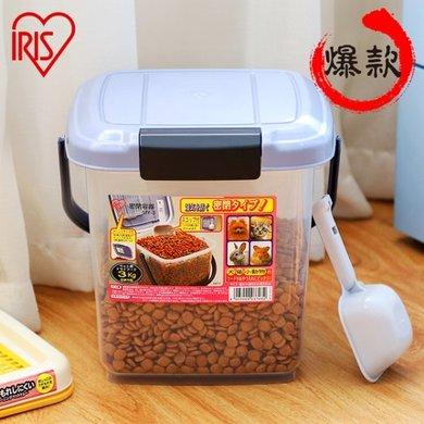 愛麗思IRIS 寵物用防潮 貓狗糧儲糧桶密封干糧存儲器收納桶愛麗絲 10L儲糧桶