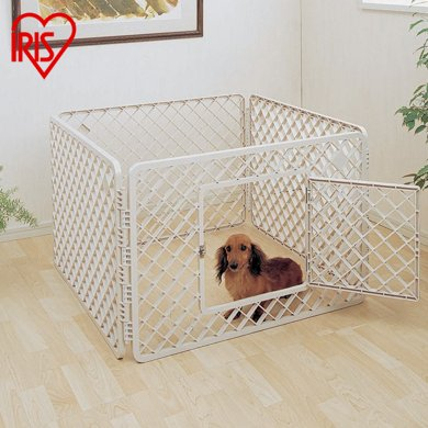 日本愛麗思IRIS 貓咪寵物柵欄 護欄狗狗防護圍欄 寵物籠子H-64E