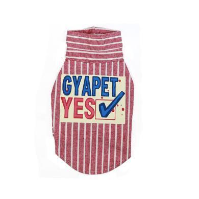 GYAPET春秋新款宠物衣服比熊雪纳瑞衬衣巨贵大型狗衣服猫衣服