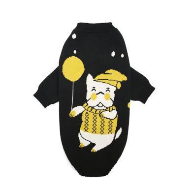 寵物毛衣小狗狗衣服貓咪服飾幼犬秋冬加厚高領保暖泰迪比熊斗牛犬