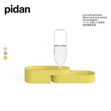 pidan狗碗雙碗狗食盆自動飲水狗碗狗盆小型犬狗碗狗狗用品