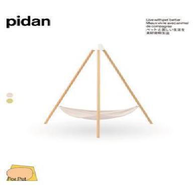 pidan貓窩實木貓吊床三角形貓窩四季通用木質貓床寵物床寵物窩