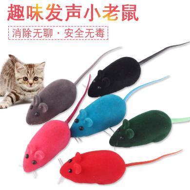 企菲 寵物發聲玩具 寵物小老鼠發聲貓狗玩具 發聲 逼真 熱銷款貓貓玩具 cwry46