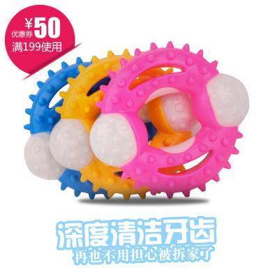 企菲 寵物用品新款寵物啃咬玩具TPR狗狗耐咬磨牙潔齒狗玩具cwry52