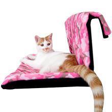 优?#32431;?宠物便携挂式猫咪吊床牢固钢架可拆洗宠物猫窝