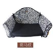 優貝卡 新款時尚豹紋寵物狗窩 小型泰迪小型犬窩比熊寵物沙發窩