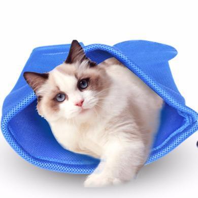 優貝卡 新款洗貓袋多功能貓咪洗澡袋固定剪指甲打針寵物袋貓咪用品