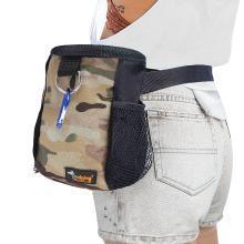 优?#32431;?新款时尚宠物训练用品腰包户外宠物零食收纳包腰包