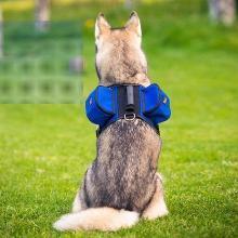 优?#32431;?狗背包自背 宠物狗自背包自驮包大型犬背包多口袋防水
