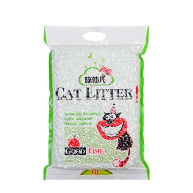 绿茶豆腐砂猫砂6L猫用品10千克20斤包邮原味奶香水蜜桃味