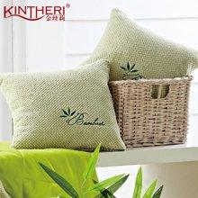 KINTHERI/金丝莉 竹纤维靠垫被  空调被空调毯多用性靠垫被多功能抱枕靠枕毯子-JK-301
