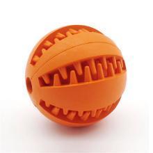 红脚丫橡胶洁齿圆球