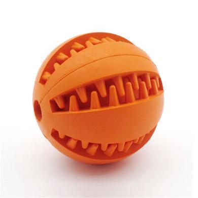 紅腳丫橡膠潔齒圓球