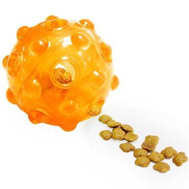 优贝卡 狗狗漏食球训导球 耐咬玩具零食漏食器宠物玩具用品