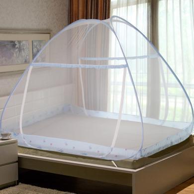 帝豪家纺 免安装 1.5/1.8m床 双人家用 蒙古包蚊帐 单人 学生宿舍 1.2m床