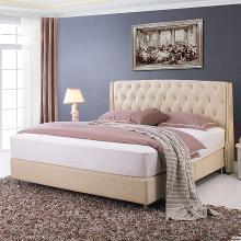 皇家爱慕现代简约布艺软床 双人床 美式婚床