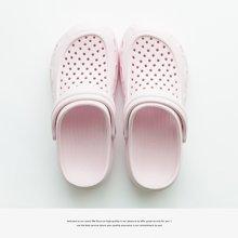 朴西夏季室外儿童外穿洞洞鞋防滑包脚沙滩拖鞋